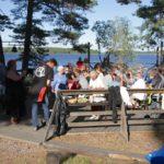 Drygt 50 personer på vitlöksfest
