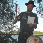 Andy auktionerar ut JG Konstsmides tvåarmade ljusstake